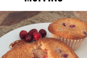 Easy Cranberry Orange Muffins or Bread