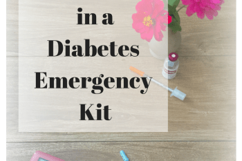 What to Pack in a Diabetes Emergency Kit