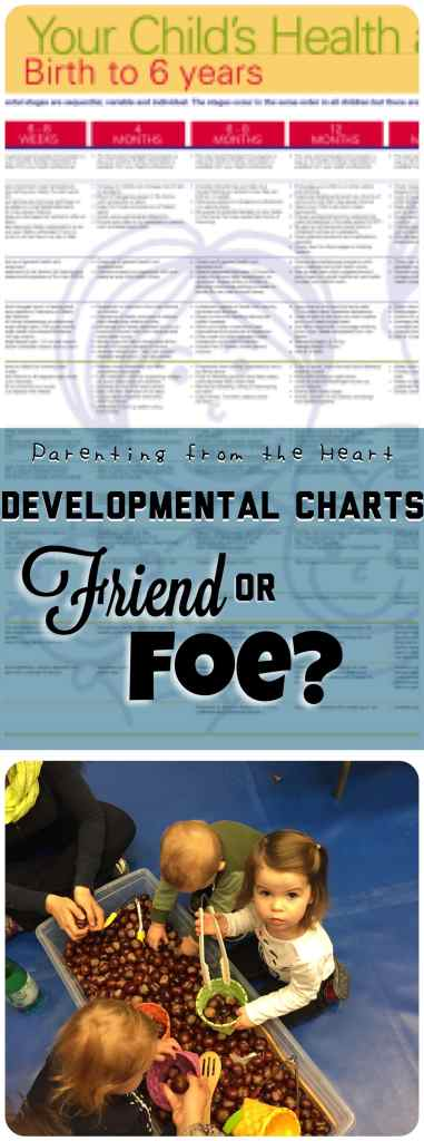 Developmental Charts: Friend or Foe? | Parenting from the Heart