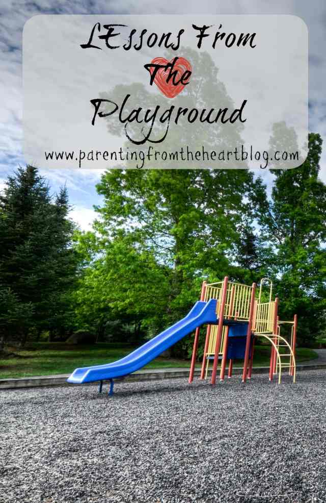 Have you ever sat back on the sidelines of the playground to watch the kids navigate the issues they face themselves?