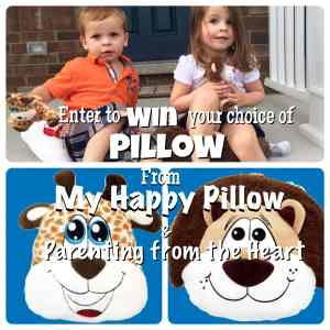 My Happy Pillow Giveaway