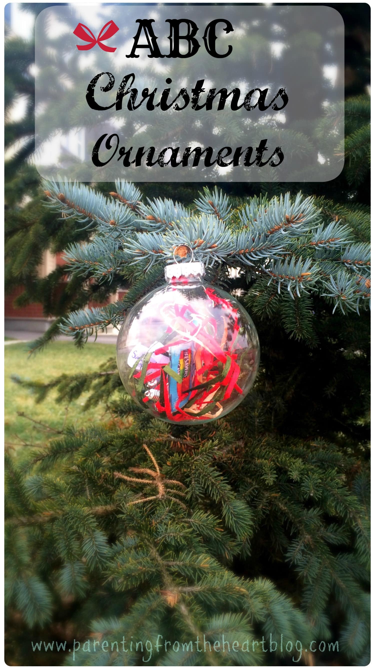 abc christmas ornaments parenting from the heart