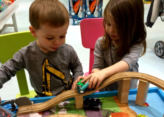 kids routine trains