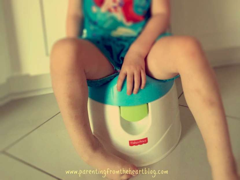 Tips for Potty training regressions