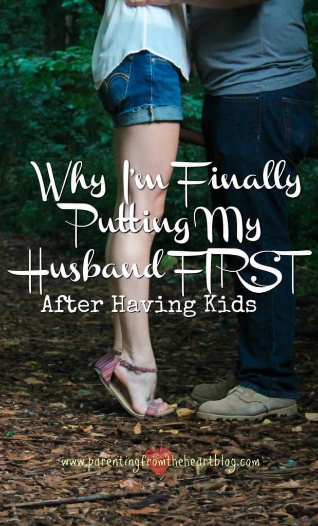 When I became a mom, all of my focus shifted to my kids. I didn't even notice my marriage slipping from my priority list. Here is why I'm putting my husband first and what I've learnt as a result.