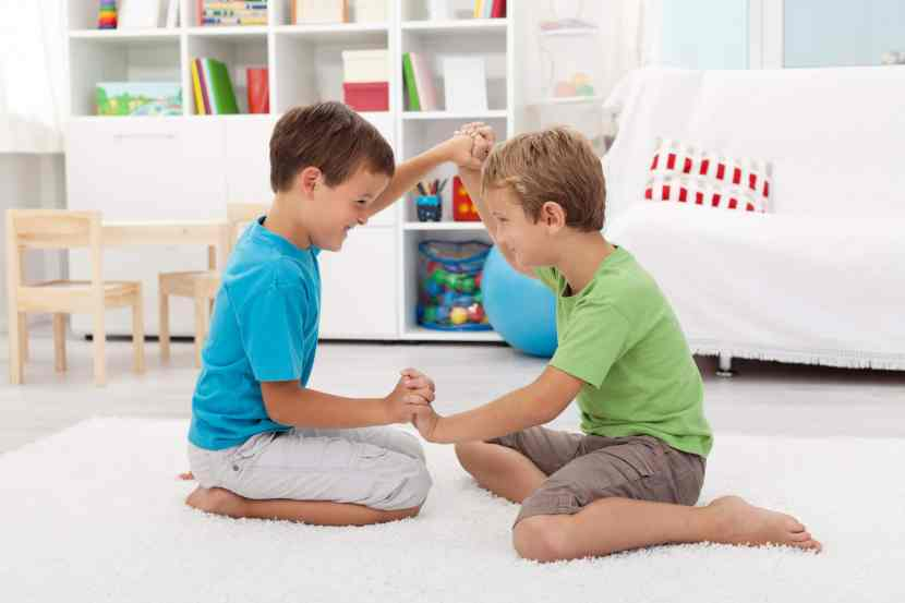 Boys love full-contact rough-and-tumble play. It may seem unruly but boys need to roughhouse. Here's why.