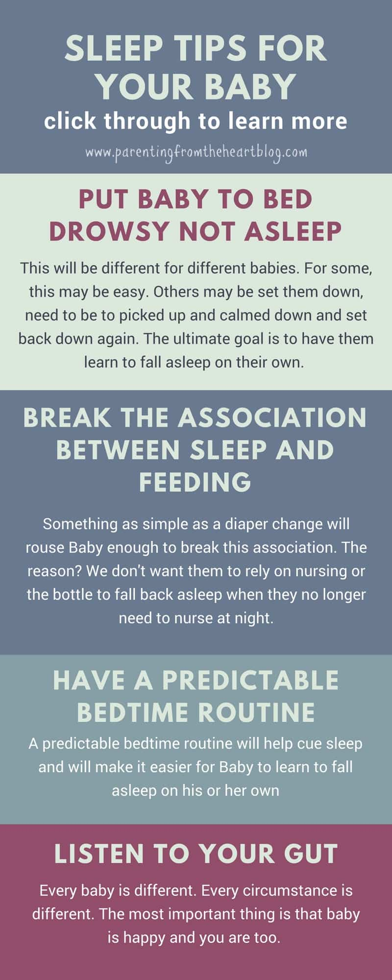 The Number One Baby Sleep Tip You Need To Know Sleeping After Just Having A