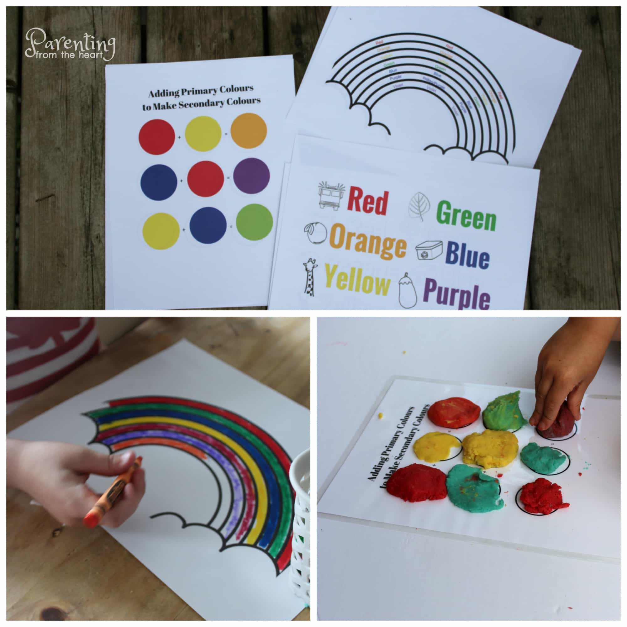 Preschool Worksheets Rainbow Play Based Learning