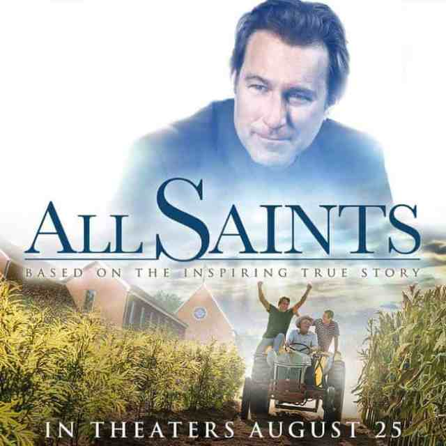 Movie Release: ALL SAINTS - Fandango Gift Code Giveaway