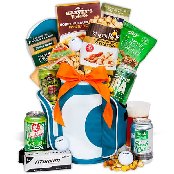 Gifts for dad - 19th Hole - Golf Gift Basket