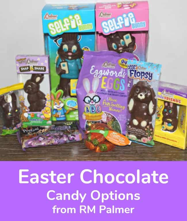 Easter Chocolate Candy Options from RM Palmer