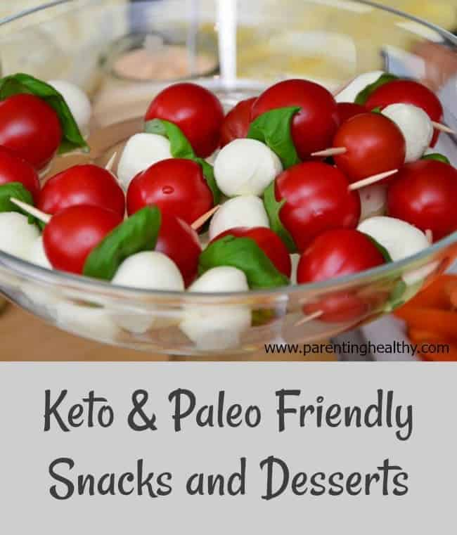 Keto & Paleo Friendly Snacks and Desserts