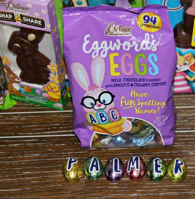 RM Palmer chocolate eggs