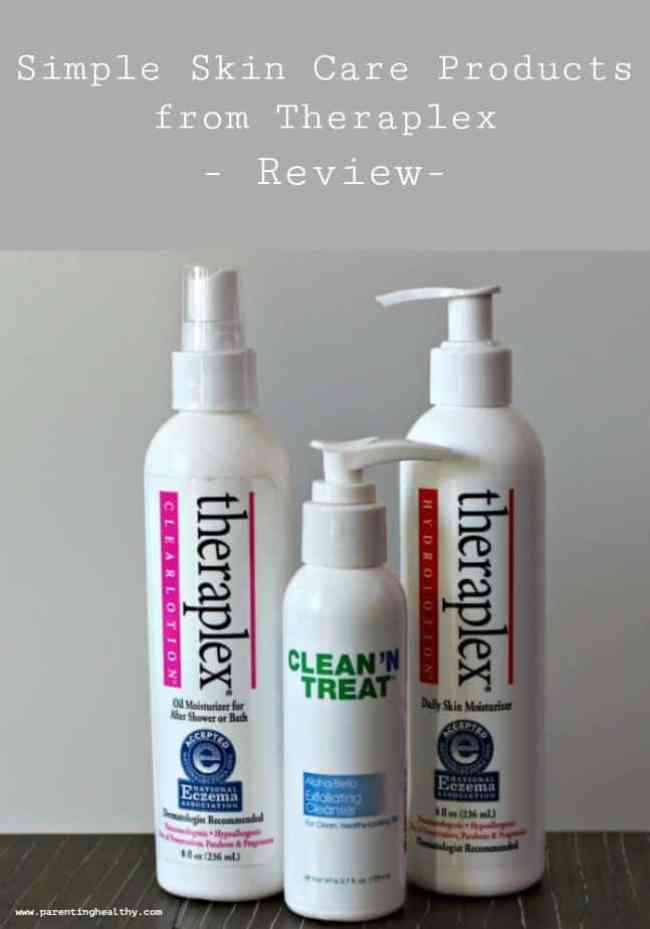 Simple Skin Care Products from Theraplex - Review