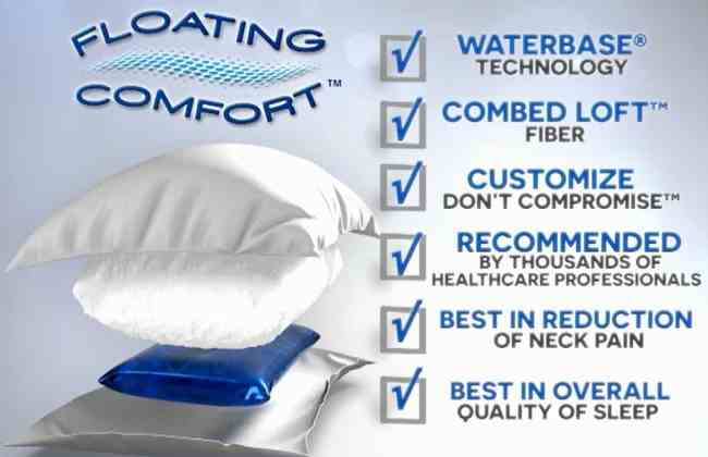 The NEW Floating Comfort™ Fiberfill Pillow