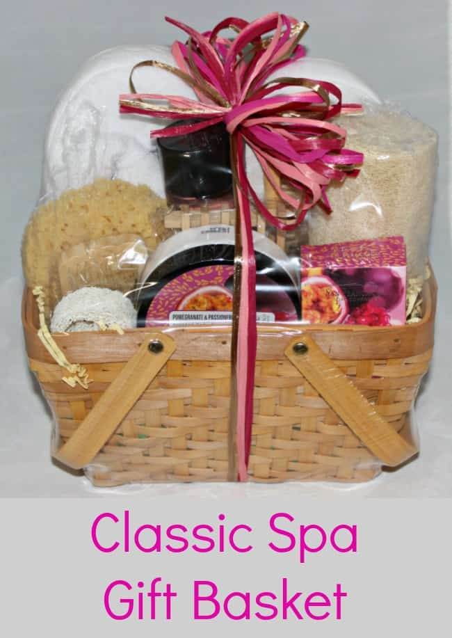 Classic Spa Gift Basket for Mom