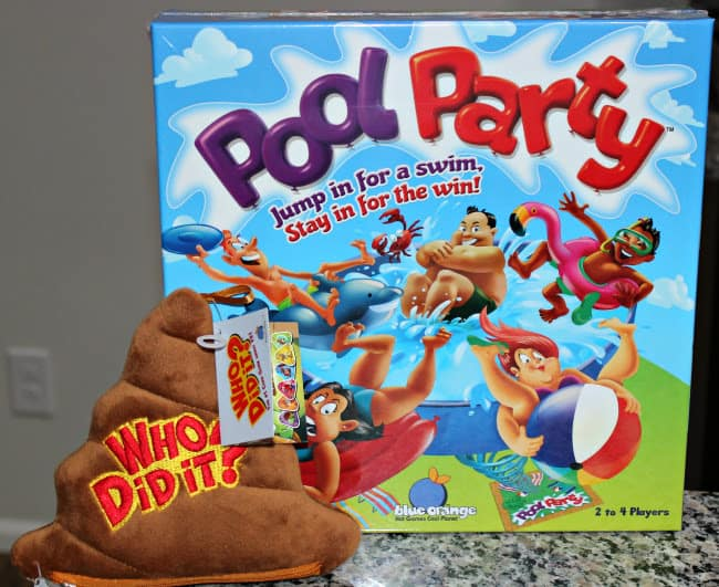 Have Fun with Pools and Poop with These New Blue Orange Games