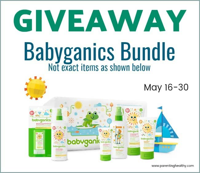 Natural Baby Summer Essentials - Babyganics Giveaway