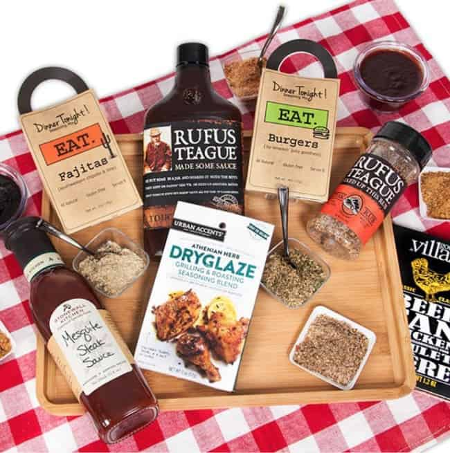 Barbecue Boss - BBQ Gift Basket for Dads and Grads