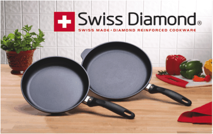 Swiss Diamond XD 2 PIECE SET: FRY PAN DUO