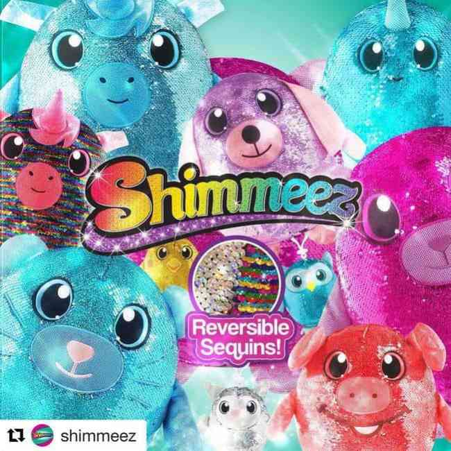 Shimmeez Color Changing and Squeezamals Soft Animals
