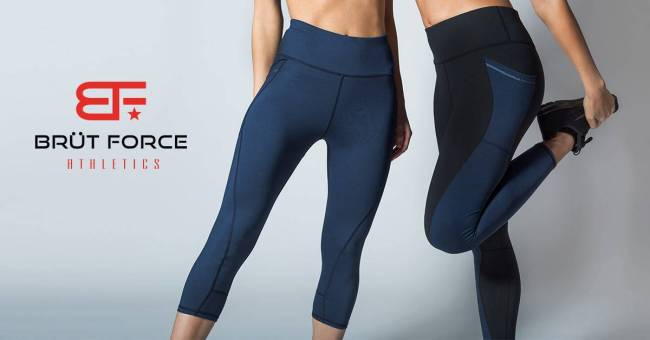 The new 828 Leggings by Brüt Force Athletic Apparel