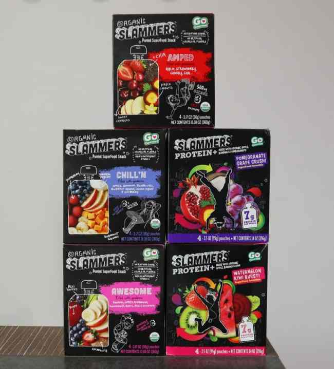 _Slammers Super Food Snacks are a delicious instant organic fuel for active kids