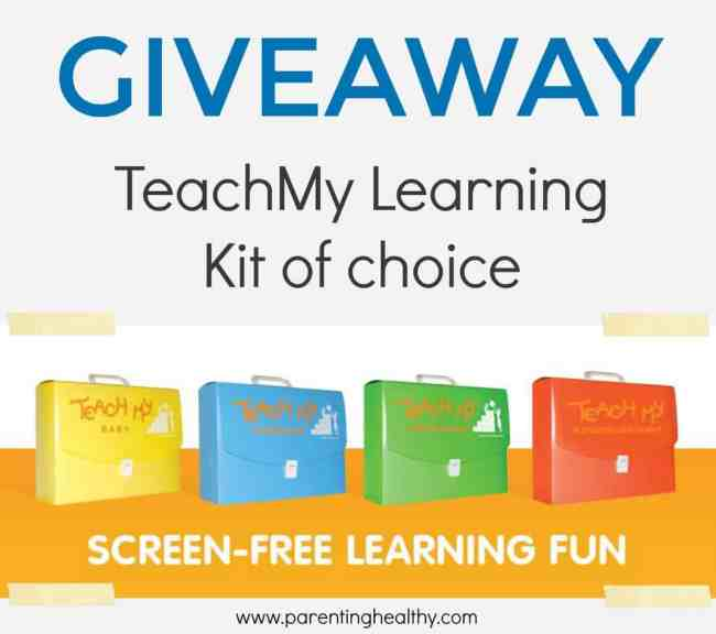 TeachMy Infant or Toddler Learning Kit Giveaway