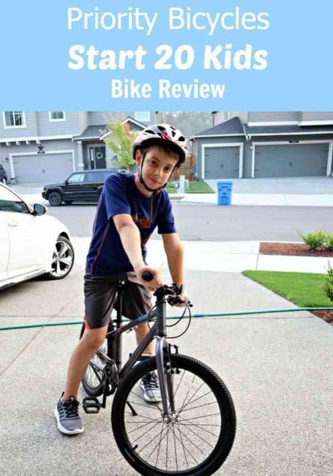 The Priority Start 20 Kids Bike Review