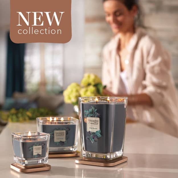 Yankee Candle NEW Elevation Collection