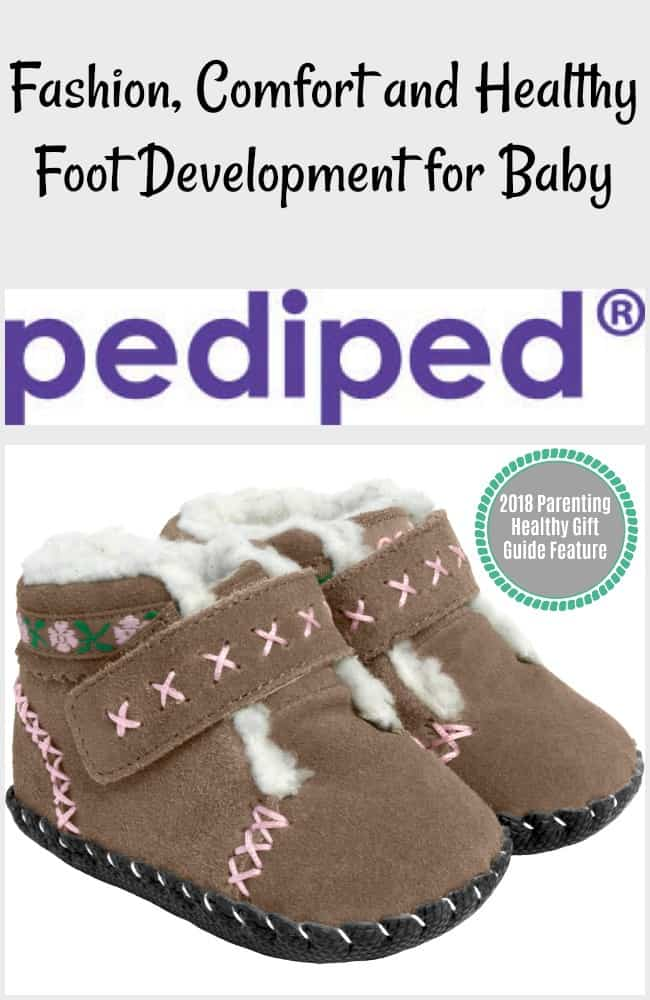 Fashion, Comfort and Healthy Foot Development for Baby with Pediped