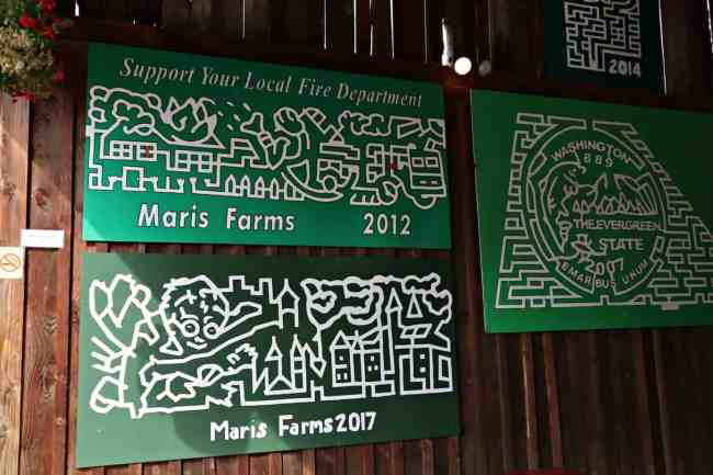 history of corn maze