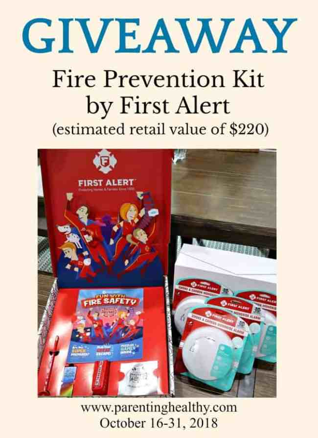 Fire Prevention Month Fire Prevention Kit Giveaway