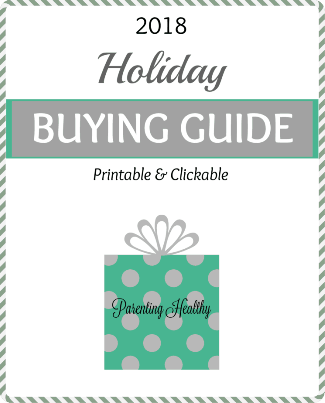 2018 Holiday Shopping Guide - Printable and Clickable