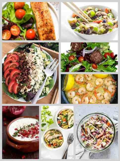 Low Carb Lunch Ideas