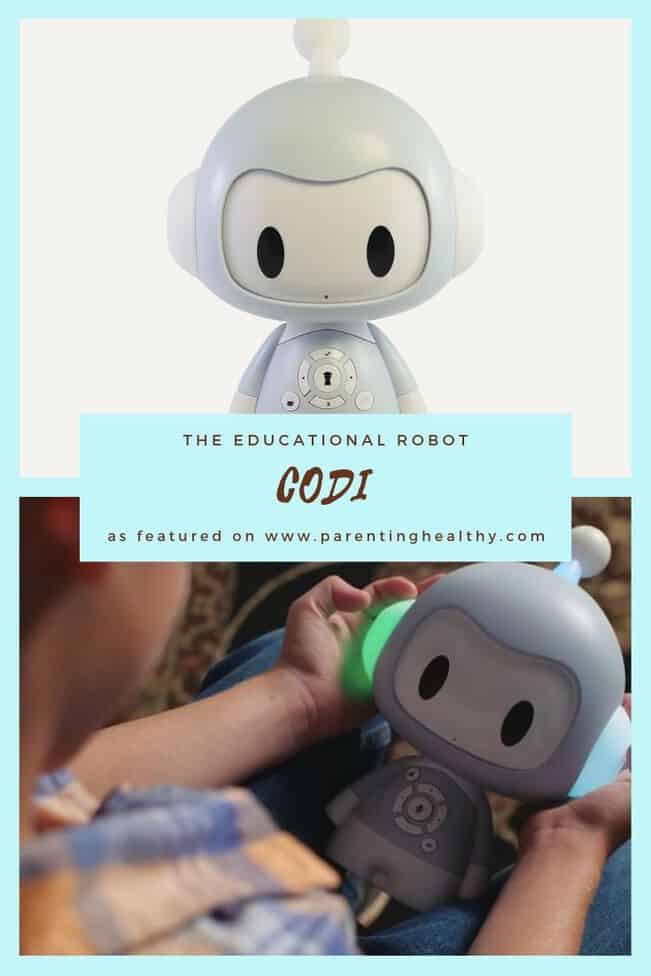 Codi the Educational Robot for Kids