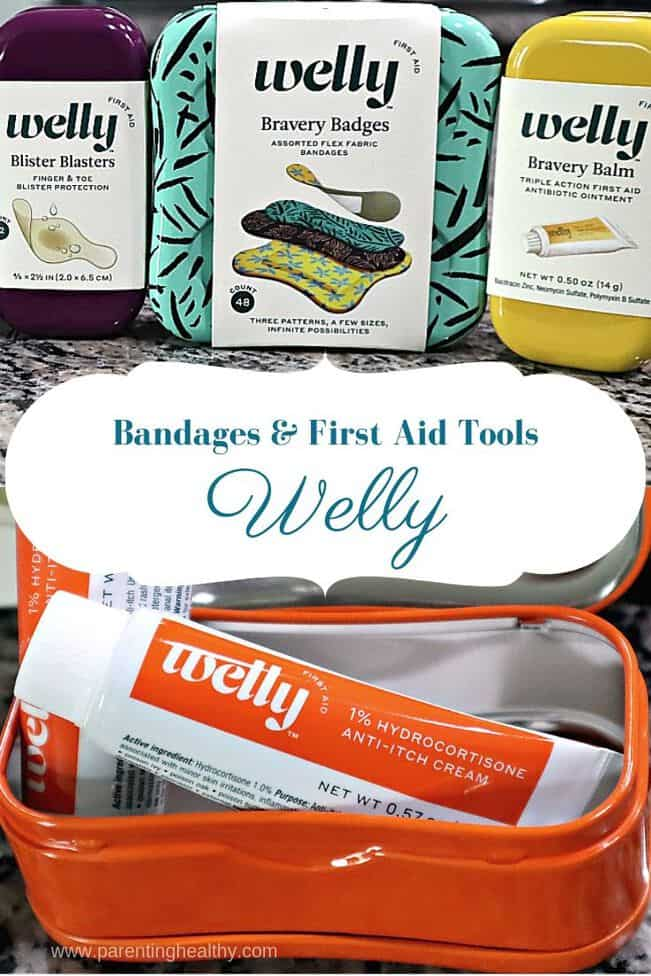 Welly premium bandages and first aid tools