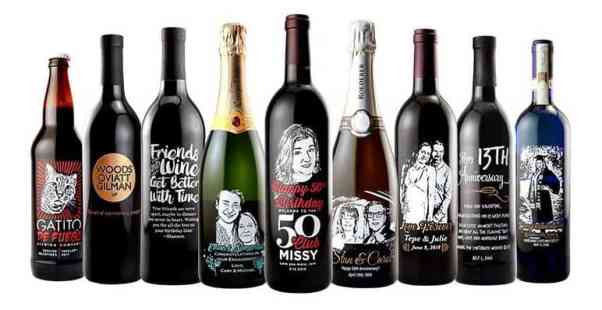 Etching Expressions makes personalized and unforgettable bottles for any special occasion. #customgift #personalizedgifts #winegifts #perfectgift #birthdaygift #customwines #etchingx