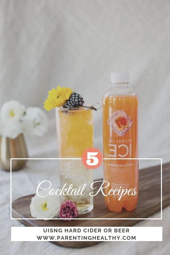 5 Cocktail Recipes Using Hard Cider or Beer