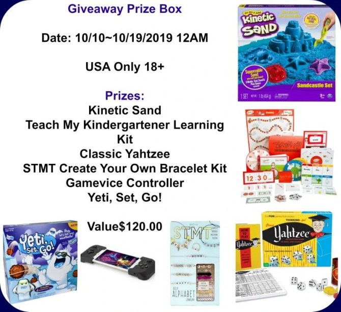 Toys and Games Prize Box