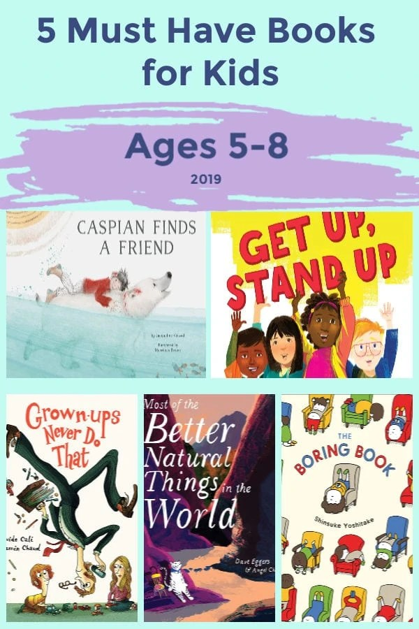 5 Must Have Books for Kids Ages 5-8 in 2019
