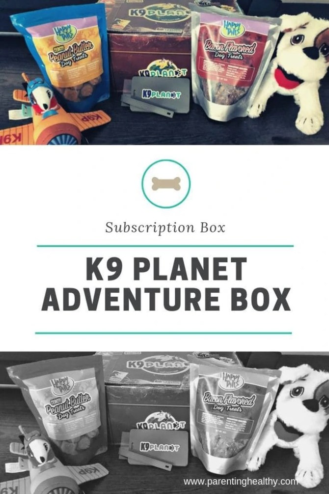 K9 Planet Adventure Box for Both the Kids and Dogs
