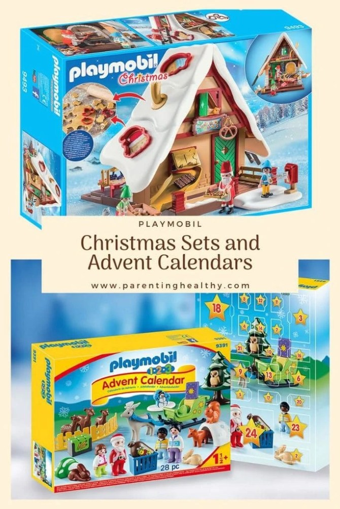 Playmobil Advent Calendars and Christmas Bakery with Cookie Cutters