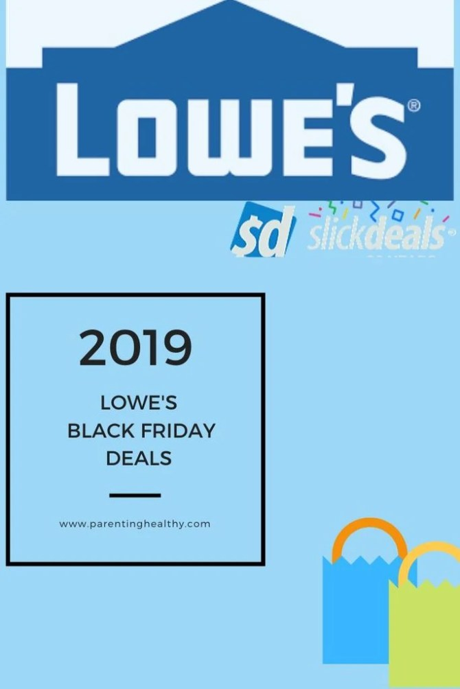2019 Lowe's Black Friday Deals - Home and Tools