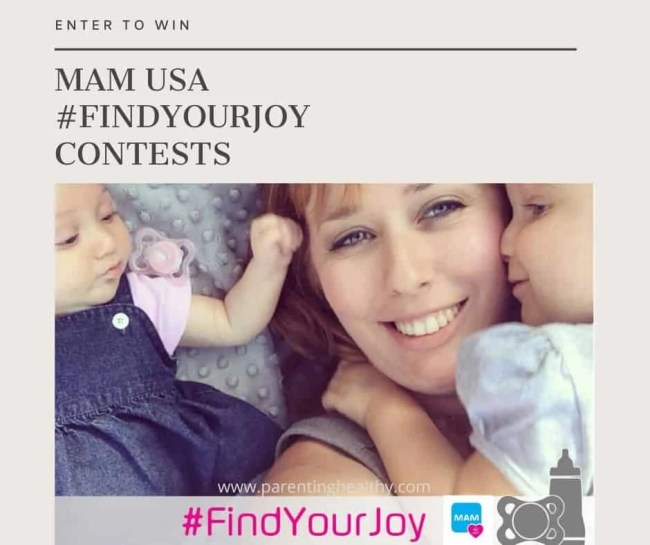 MAM USA Wants your to #FindYourJoy and Win Prizes - Giveaway
