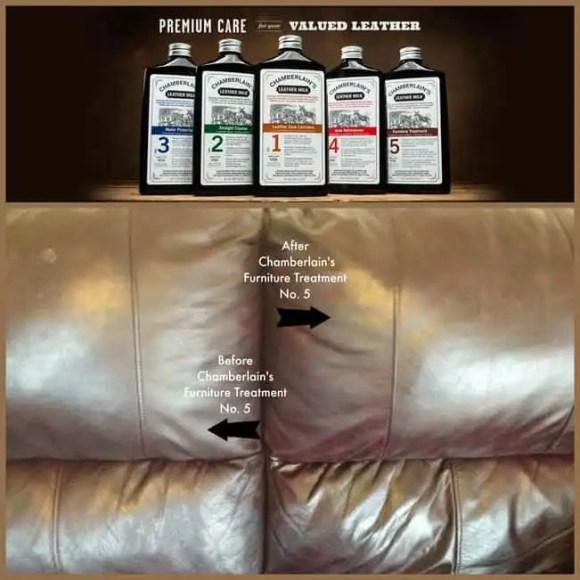Chamberlain's Leather Furniture Treatment