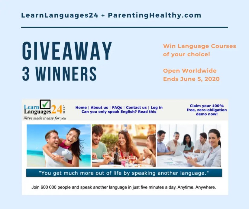 Language Course giveaway