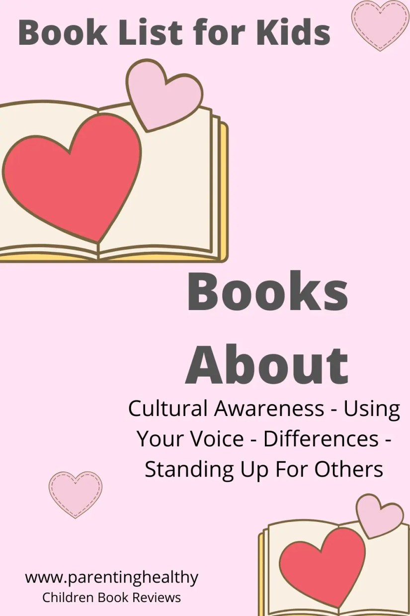 Children's Books about Culture, Differences, Standing Up for Others