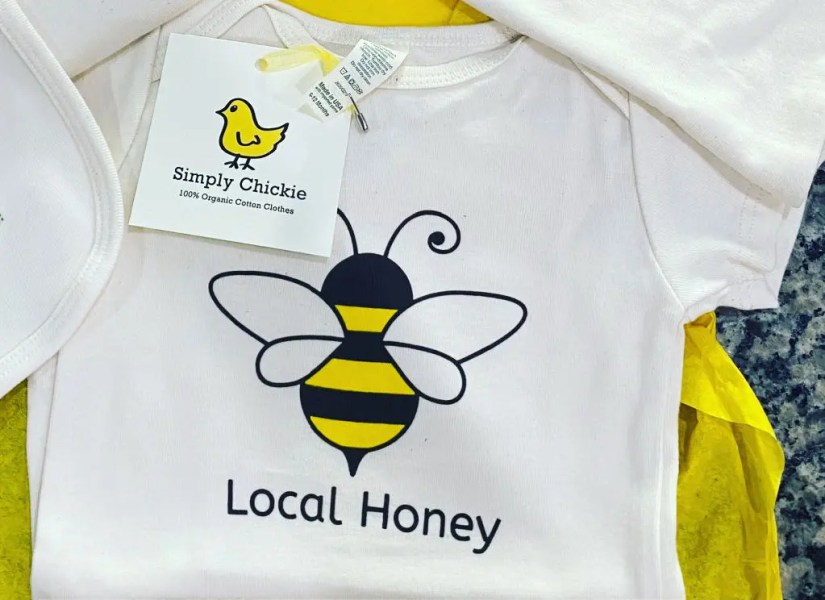 Honey Bee onesie