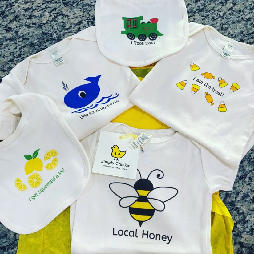 Simply Chic USA Made, certified organic cotton baby and toddler products